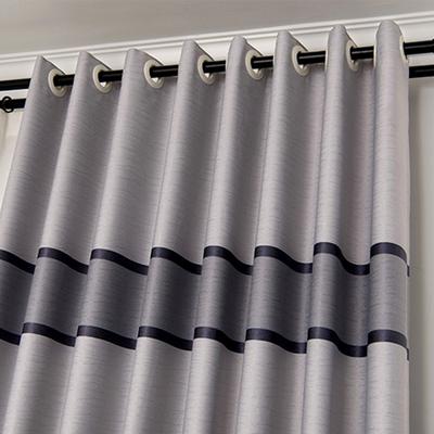 【可做3.1高】现代简约卧室飘窗客厅防晒遮光隔热窗帘成品定制