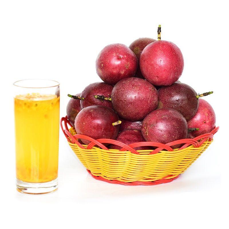 百香果3斤5新鲜热带水果西潘莲鸡蛋果大果现摘现发紫色红色白香果【9月17日发完】_4