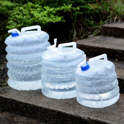 户外PE折叠储水桶水袋水箱水具 野营自驾钓鱼用品野营水桶便携