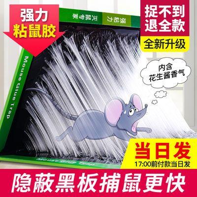 10张强力老鼠贴加厚粘鼠板老鼠板克星胶沾抓老鼠捕鼠灭鼠神器家用