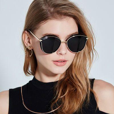 65187/太阳镜女新款防紫外线眼镜偏光时尚gm墨镜韩版网红同款大脸显瘦