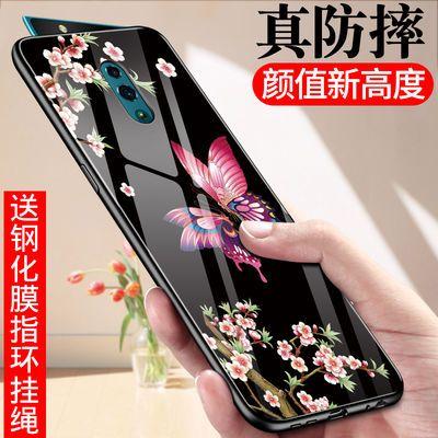 适用于opporeno2手机壳z女reno男a11x防摔renoz玻璃k5硅胶ace2套Z