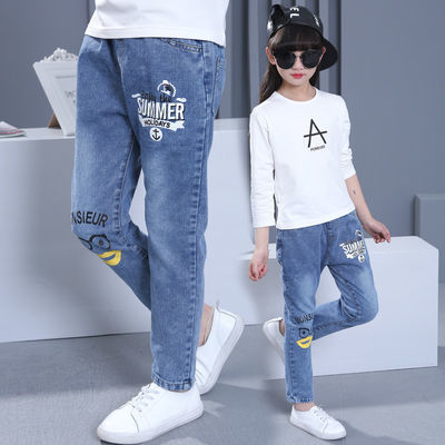 女童裤子夏款