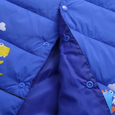 皮皮熊女童冬装10-15岁儿童保暖背心女大童棉马甲秋冬加厚 中长款