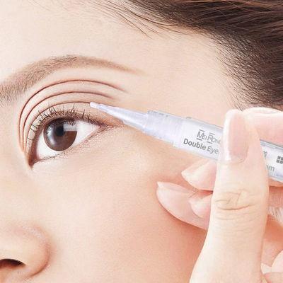 大眼神器【双眼皮正品】定型霜自然眼皮贴胶水隐形纤维条蕾丝双面
