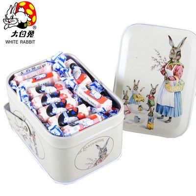 大白兔風味牛奶糖特價隨身攜帶糖果批發少女心高顏值零食114-520g