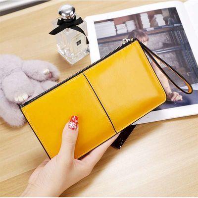 新款韩版钱包长款拉链女士手拿包大容量手机钱包时尚潮女包包