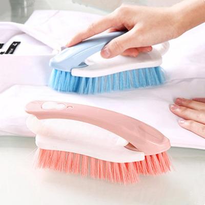 洁多功能板刷家用软塑料毛去衣物污创意可拆卸刷子鞋擦洗衣刷清