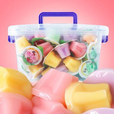 乳酸果冻多口味休闲甜品零食儿童零食果冻布丁大礼包整箱批发1斤