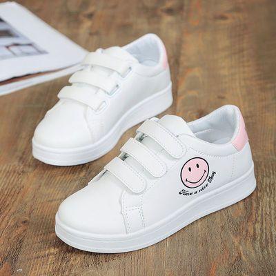 2019春秋季10小白鞋12中大童板鞋13中小学生休闲单鞋15岁女平底鞋