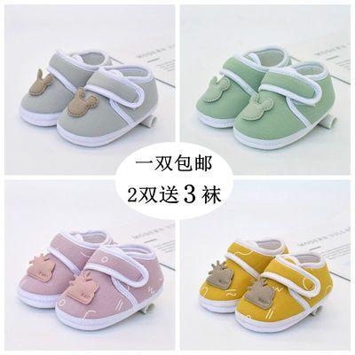 宝宝鞋子秋冬款袜子纯棉款软底男女童鞋地板鞋防滑婴儿室内学步鞋