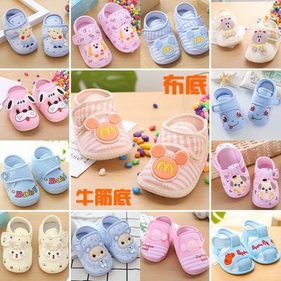 2019春款2宝宝鞋子1-3岁婴幼儿学步鞋软底男女童运动鞋防滑小白鞋