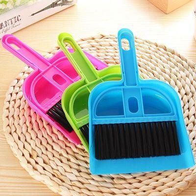 仓鼠笼鸟笼宠物用品清洁工具憨憨宠创意迷你桌面扫把簸箕套装