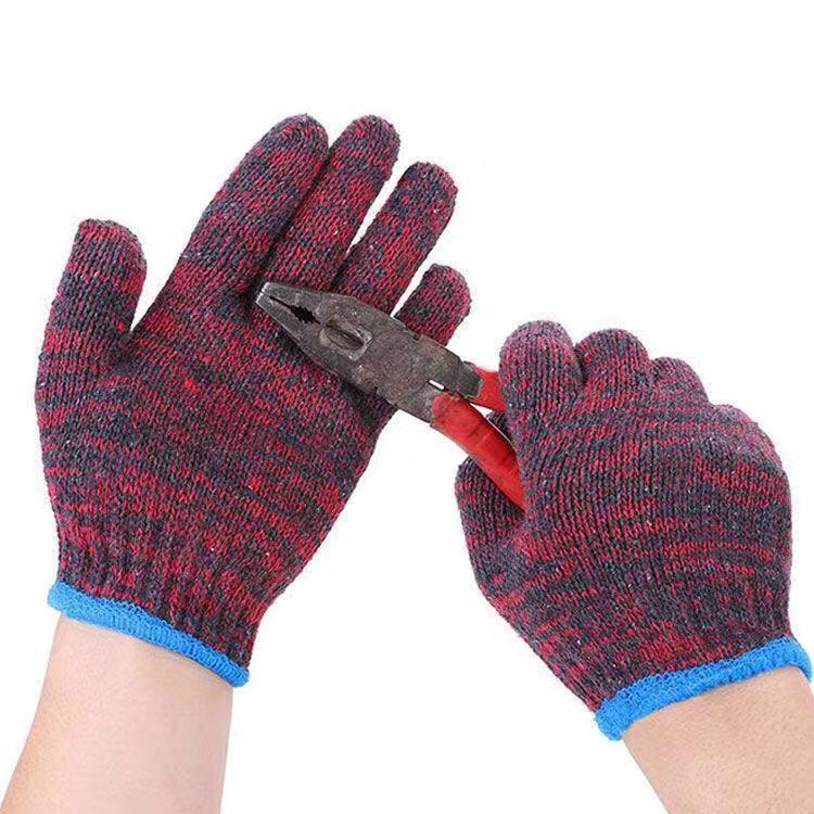 【整件600双批发】棉纱手套批发劳保手套 耐磨工作修理做工手套男