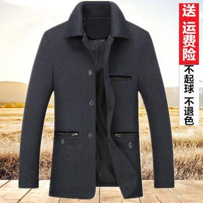 春秋装男士外套中老年人男装夹克中年夹克衫爸爸装春季茄克外套男