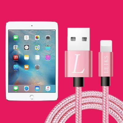 苹果平板充电线ipadmini24ipadair2ipad3迷你数据线闪快充器线