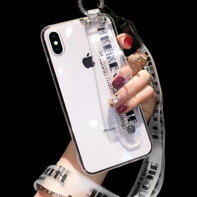 VIVOX27手机壳女X23幻彩版女X21硅胶软X20透明腕带支架X9S保护套X