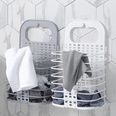 可折叠大号脏衣篮塑料挂墙收纳筐浴室洗衣篮脏衣服收纳篮脏衣篓