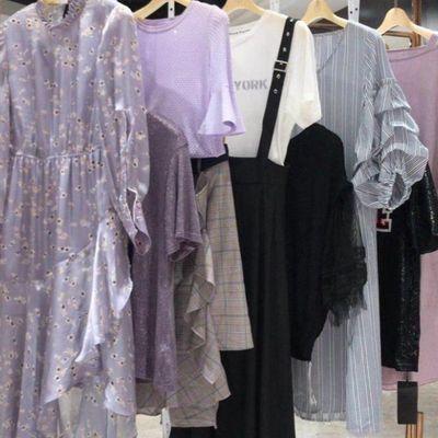 大码尾货女装连衣裙女装两件套连衣裙专柜清仓女大冬装商场折扣