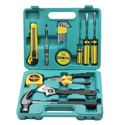 家用工具箱套装组合工具五金多功能手动工具电工车用工具维修箱