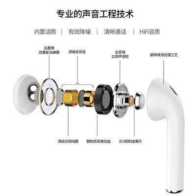 原装苹果7低音无线vivo蓝牙耳机iphonex/8/6/6s/6sp/XR安卓通用