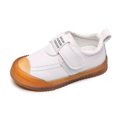 秋冬新款韩版男女童宝宝撞色中小童短靴男童英伦风儿童皮鞋休闲鞋