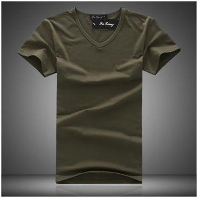 男士短袖t恤户外运动迷彩军绿色军色军人特种兵衣服修身汗衫