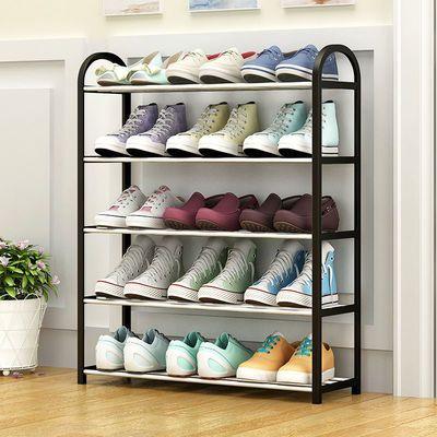 欧式多层鞋架家用小户型学生宿舍收纳神气鞋柜防尘室内外组合鞋架主图