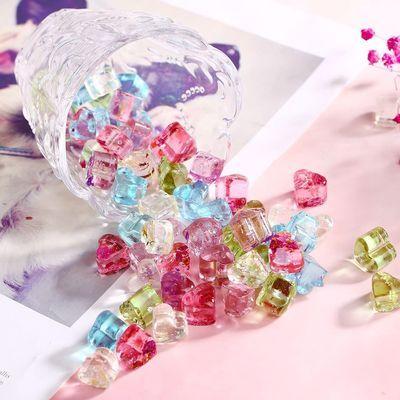 网红琥珀糖爱心鲜花棒棒糖樱花女生高颜值零食硬糖果礼盒生日礼物