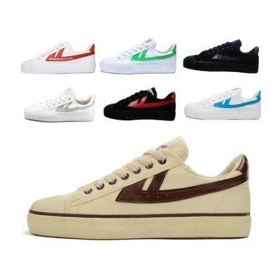 回力鞋米色帆布鞋女鞋白色低帮学生运动鞋情侣休闲鞋男鞋国货经典