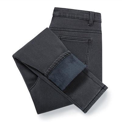 《高品质》冬季高腰牛仔裤女加绒加厚弹力紧身显瘦外穿保暖棉裤女