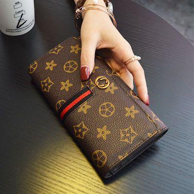 【头层牛皮】新款真皮钱包女长款大容量卡包手机钱夹手拿包潮零钱【3月24日发完】