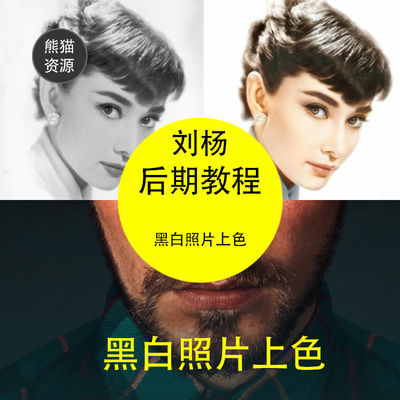 刘杨PS视频教程造像之术商业人像修图进阶课程后期调色