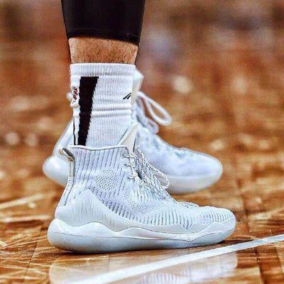 CBA篮球袜中国李宁高帮男子长袜运动袜赞助毛巾拿球说话韦德之道
