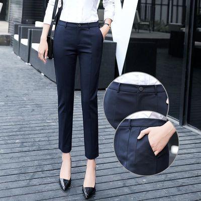 小西裤女九分裤
