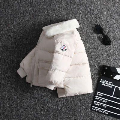 冬季新款儿童羽绒棉服男女童棉袄中小童宝宝棉衣加厚冬装外套婴儿