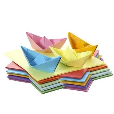 正方形儿童彩纸卡纸千纸鹤DIY幼儿园手工折纸A4打印复印广告纸主图