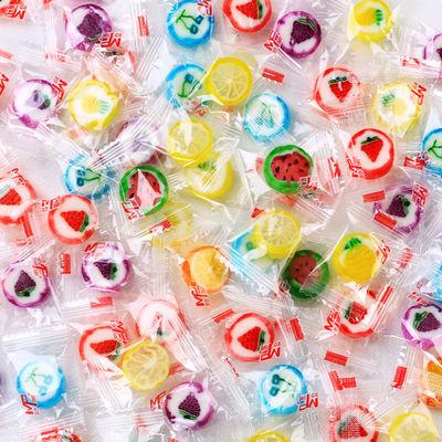 创意千纸鹤手工水果切片糖结婚喜糖批发万圣节儿童零食年货硬糖