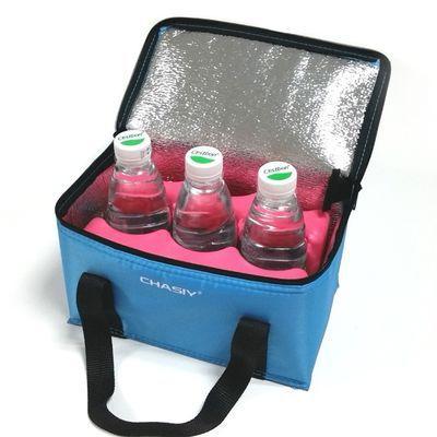 手提饭盒袋便当包保温包带饭包冰包冰袋锡箔保冷保鲜户外野餐小号