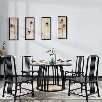 新中式圆餐桌