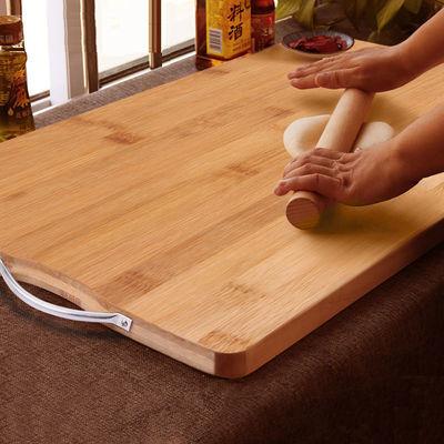 舌尖上的中国泰兴银杏木砧板厨房实木切菜板家用白果树菜墩加厚大