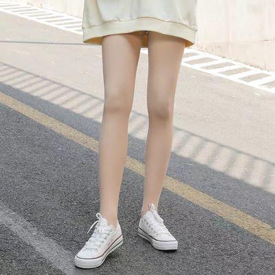 光腿神器女秋冬季裸感加绒加厚一体裤袜女肉色外穿春秋保暖打底裤