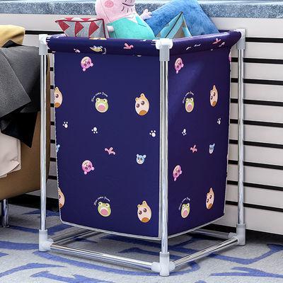 大号脏衣篓衣物脏衣篮衣服洗衣篮收纳筐杂物蓝可折叠玩具洗澡篮子【3月31日发完】