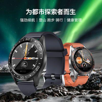 (新款)运动智能手环男女多功能心率血压防水来电信息运动手表