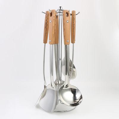 不锈钢锅铲勺子家用炒菜铲子汤勺漏勺饭勺煎铲厨具套装厨房用具【3月1日发完】