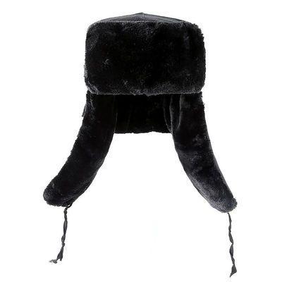 冬季男女士雷锋帽户外防寒骑电动车摩托车加厚保暖防风棉帽子毛子主图
