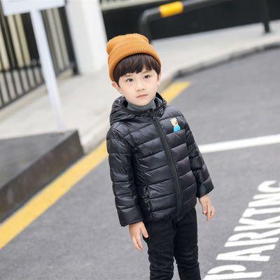 反季童装儿童羽绒服轻薄款男童女童宝宝中童小孩婴儿外套新款秋冬