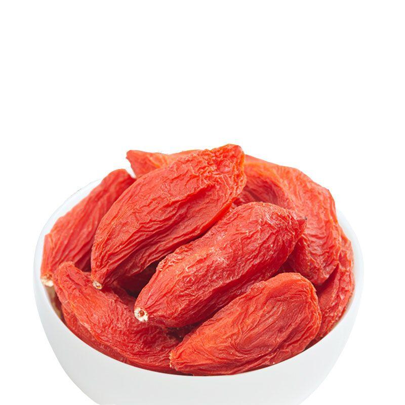 新枸杞子500g特级罐装宁夏枸杞干野生正宗头茬100g收藏店铺送赠品