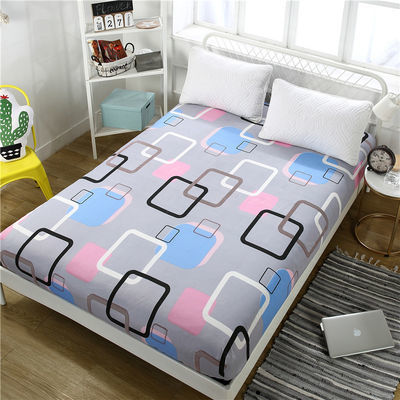 九鹿堡家纺床笠席梦思保护套 床罩床垫套单件床单1米1.8米1.5米【2月29日发完】