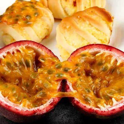 买1送1】广西新鲜百香果5斤装一级中果白香果现摘热带水果特级10